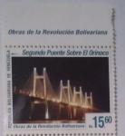 Stamps : America : Venezuela :  SEGUNDO PUENTE SOBRE EL ORINOCO