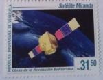 Stamps : America : Venezuela :  SATELITE MIRANDA