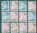 Stamps : America : Venezuela :  Serie de servicio resellada