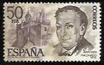 Stamps Spain -  Personajes españoles - Antonio Machado