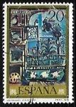 Stamps Spain -  Pablo Ruiz Picasso -
