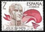 Sellos de Europa - España -  América - España José de San Martín