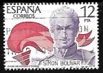 Sellos de America - España -   América - España - Simón Bolívar