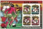 Stamps North Korea -  Mundial de fútbol España 82