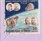 Stamps Haiti -  Mision Espacial