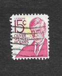 Sellos de America - Estados Unidos -  Oiver Wendell Holmes