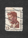 Stamps United States -  1287 - John F. Kennedy