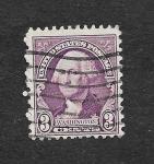 Stamps United States -  720 - George Washington