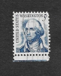 Sellos de America - Estados Unidos -  George Washington