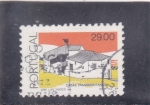Stamps : Europe : Portugal :  CASAS TRANSMONTANAS
