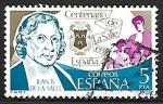 Sellos de Europa - España -  Centenario de La Salle - Juan Bautista de La Salle
