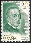 Stamps Spain -   Personajes españoles - Gregorio Marañon