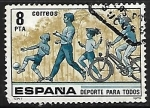 Stamps Spain -  Deportes para todos -