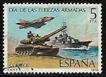 Sellos de Europa - España -  Dia de las Fuerzas Armadas