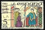 Sellos de Europa - España -  Dia del sello - Correo del Rey siglo XIII