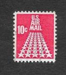 Sellos de America - Estados Unidos -  Estrellas