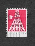 Stamps United States -  Estrellas