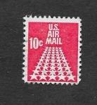 Stamps United States -  C72 - Estrellas