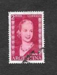Sellos de America - Argentina -  613 - Eva Perón