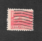 Stamps Cuba -  RA43 - Palacio de Comunicaciones
