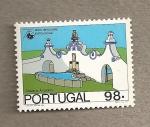 Stamps Portugal -  75 Años de Turismo Institucional