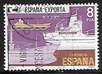 Sellos de Europa - España -  España exporta - Buques