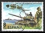 Sellos de Europa - España -  Día de las Fuerzas Armadas - Medios de combate