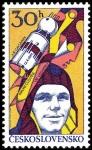 Sellos de Europa - Checoslovaquia -  Investigación aeronáutica