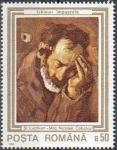 Stamps Romania -  Pinturas dañadas en la revolución