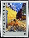 Stamps Romania -  Centenario de la muerte de Vincent Van Gogh