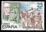 Sellos de Europa - España -  Exposición Filatélica de América y Europa - Manuel de Falla