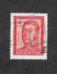 Sellos de America - Argentina -  694 - General José de San Martín