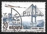 Sellos de Europa - España -  Correo aéreo - Puente de Rande sobre la ria de Vigo
