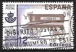 Sellos de Europa - España -  Museo Postal - Furgón de correo del siglo XIX