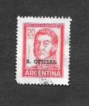 Sellos de America - Argentina -  General José San Martín