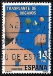 Sellos de Europa - España -  Transplante de organos