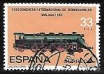 Sellos de Europa - España -   Congreso Internacional de Ferrocarriles -