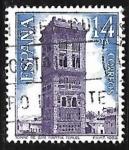 Sellos de Europa - España -  Paisajes y Monumentos - Torre Mudéjar de San Martín - (Terurel)