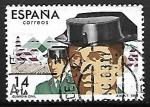 Sellos de Europa - España -  Cuerpos de Seguridad del Estado - Guardia Civil