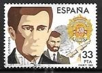 Sellos de Europa - España -  Cuerpos de Seguridad del Estado - Cuerpo Superior de Policia