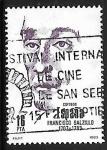 Stamps Spain -  Centenarios - Francisco Salzillo
