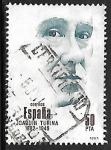 Stamps Spain -  Centenarios - Joaquin Turina