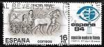 Sellos de Europa - España -  Dia del Sello - Carro de correo romano