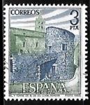 Sellos de Europa - España -  Paisajes y Monumentos - Conjunto moumental Llivia (Gerona)