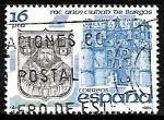 Stamps Spain -  MC aniverdário  de la ciudad de Burgos - Arco de Santa María