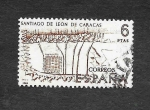 Stamps Spain -  Edf 1893 - Forjadores de América