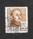 Stamps : Europe : Spain :  Edf 1022 - Francisco Franco Bahamonde