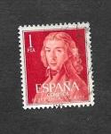 Stamps Spain -  Edf 1328 - II Centenario  del Nacimiento de Leandro Fernández de Moratín