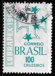 Sellos de America - Brasil -  Brasil-cambio