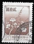 Sellos de Asia - Taiwán -  China-cambio